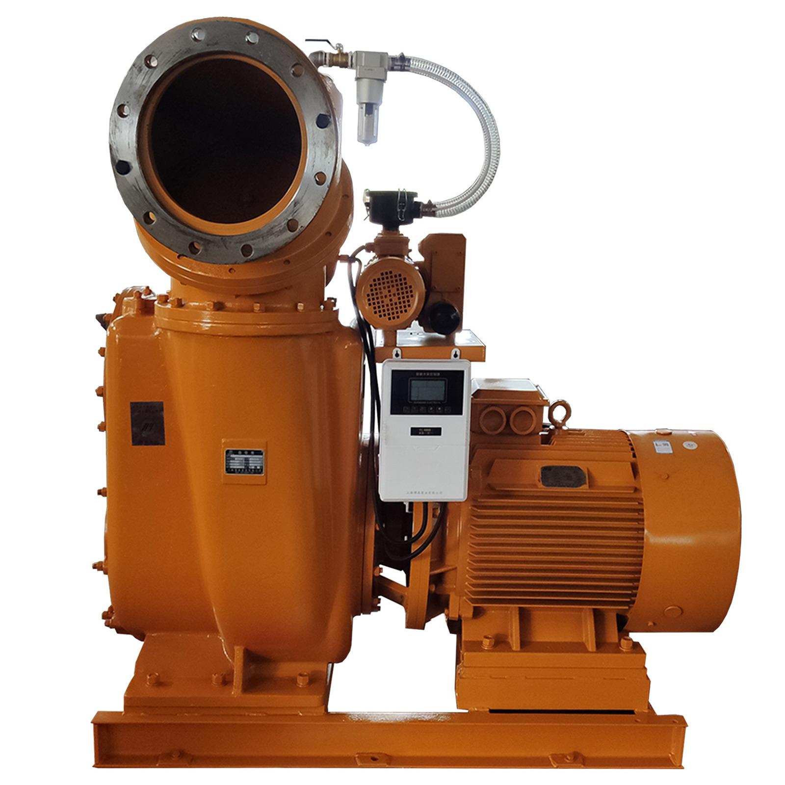 帶便拆清污板的真空自吸泵 可側面可正面吸水的高吸程自吸泵 開式葉輪真空輔助自吸泵