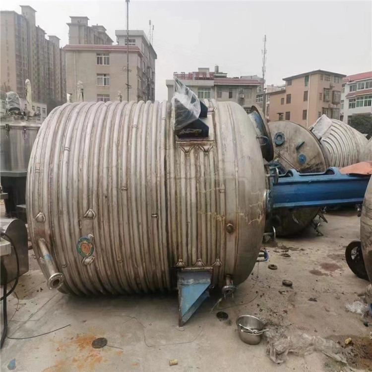 處理二手反應釜 二手高壓反應釜 二手碳鋼反應釜 型號齊全