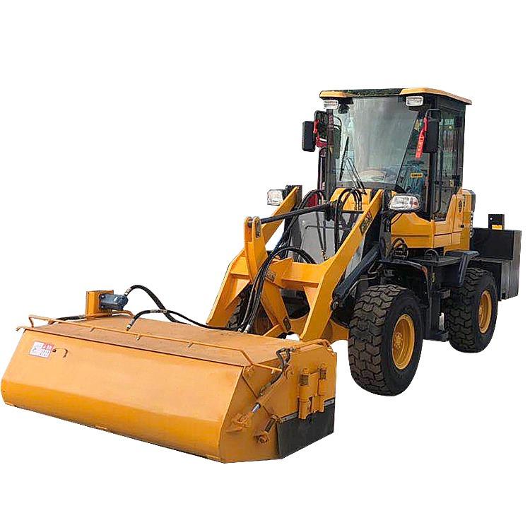 鏟車改道路清掃機 順飛掃地機 山貓滑移清掃機