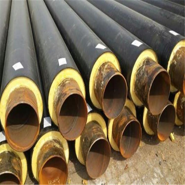 鹽山東岳新能源科技有限公司 生產 架空保溫鋼管 蒸汽保溫管 熱水輸送管道 直埋聚氨酯保溫鋼管 廠家