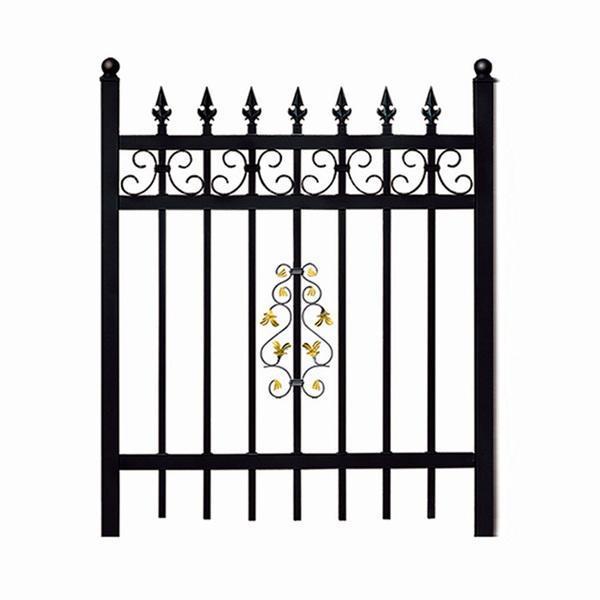 大同 铁艺栏杆 小区围墙铁艺护栏锌钢护栏价格示例图2