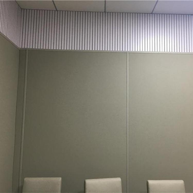 候審室專用墻面防撞軟包 調解室墻面吸音防撞材料 奧壹凱新型納米棉軟包配套