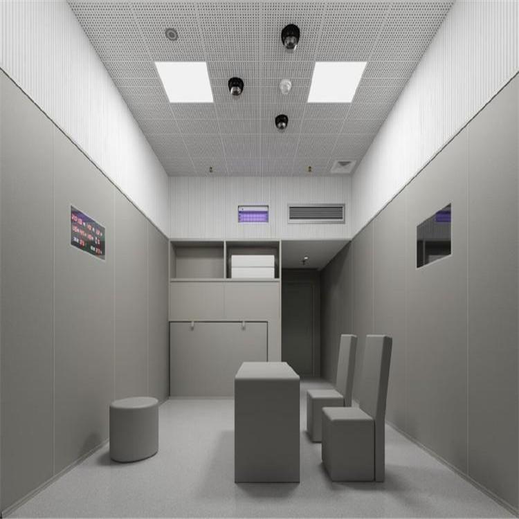 山東訊問室吸音防撞軟包 軟質防撞簽字桌椅 防撞硅膠潔具 奧壹凱